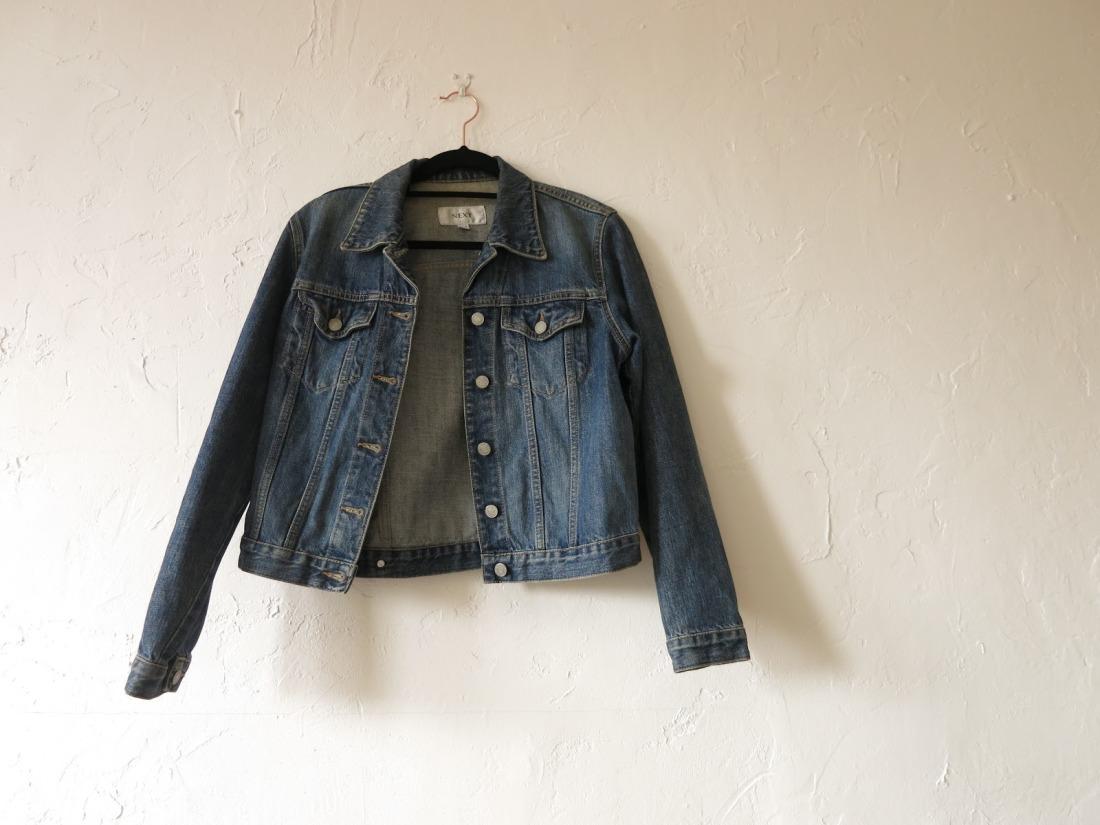 second-hand denim jacket