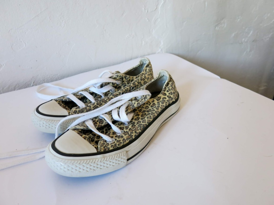 my pair of leopard print converse