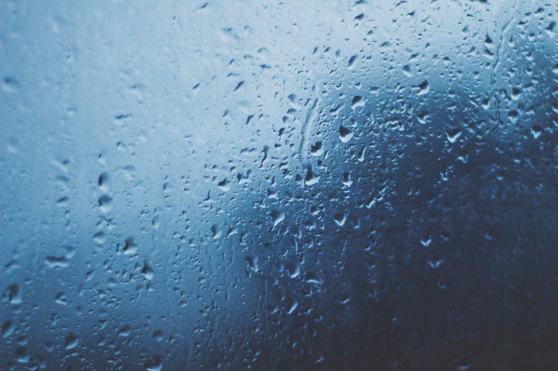 Rainy weather winter Scotland rain