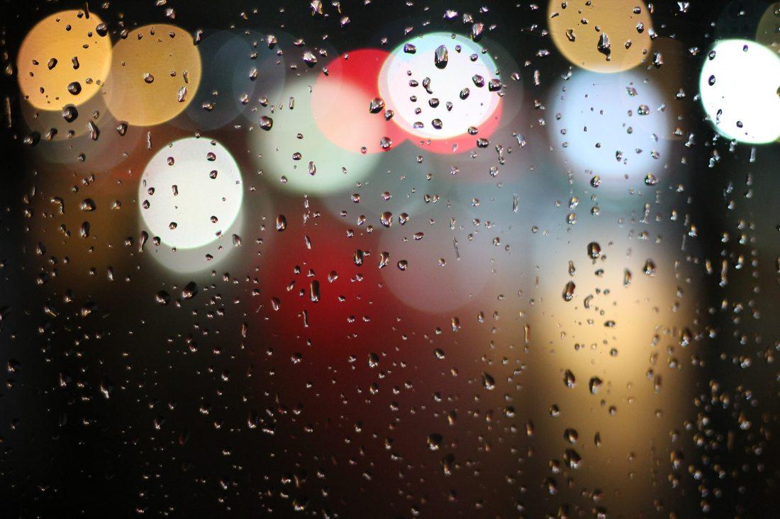 Rainy Weather Winter Scotland