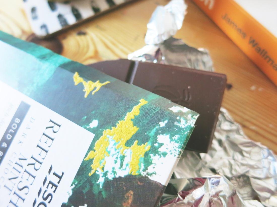 Tesco refreshing mint dark chocolate